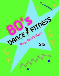 80's Dance Fitness for Adults