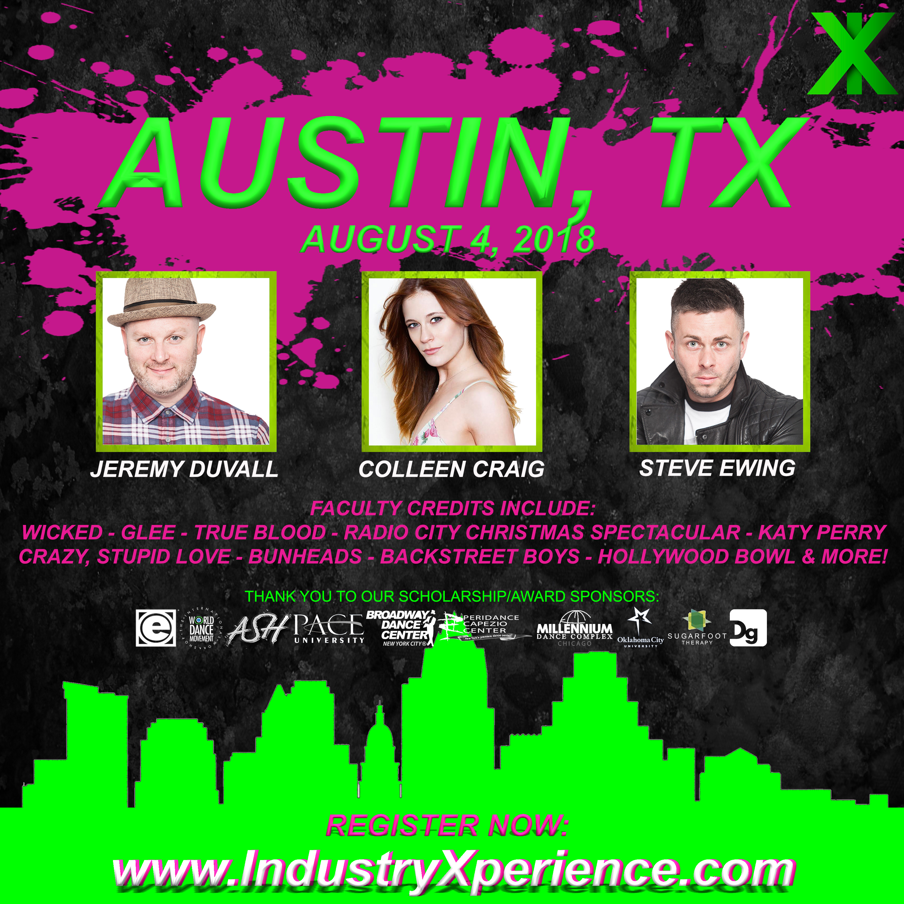 Industry Xperience 1-day Intensive: Schedule Posted