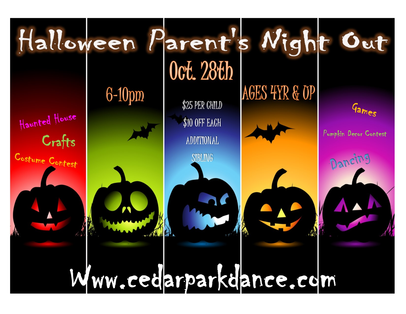 Halloween Party (Parent's Night Out)