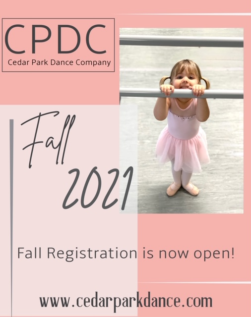 Fall 2021 registration is now open!