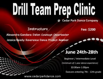 drill team clinic